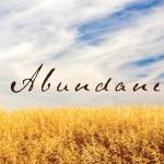 abundance-