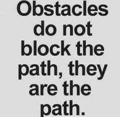 obstacles path